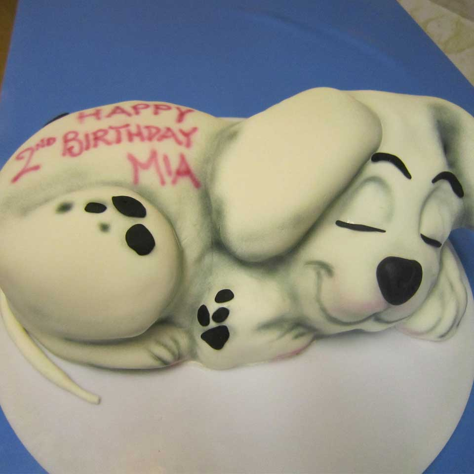 Invermere Bakery - Birthday Cake - It's a Dog's Life