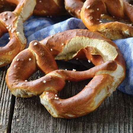 Invermere Bakery pretzel
