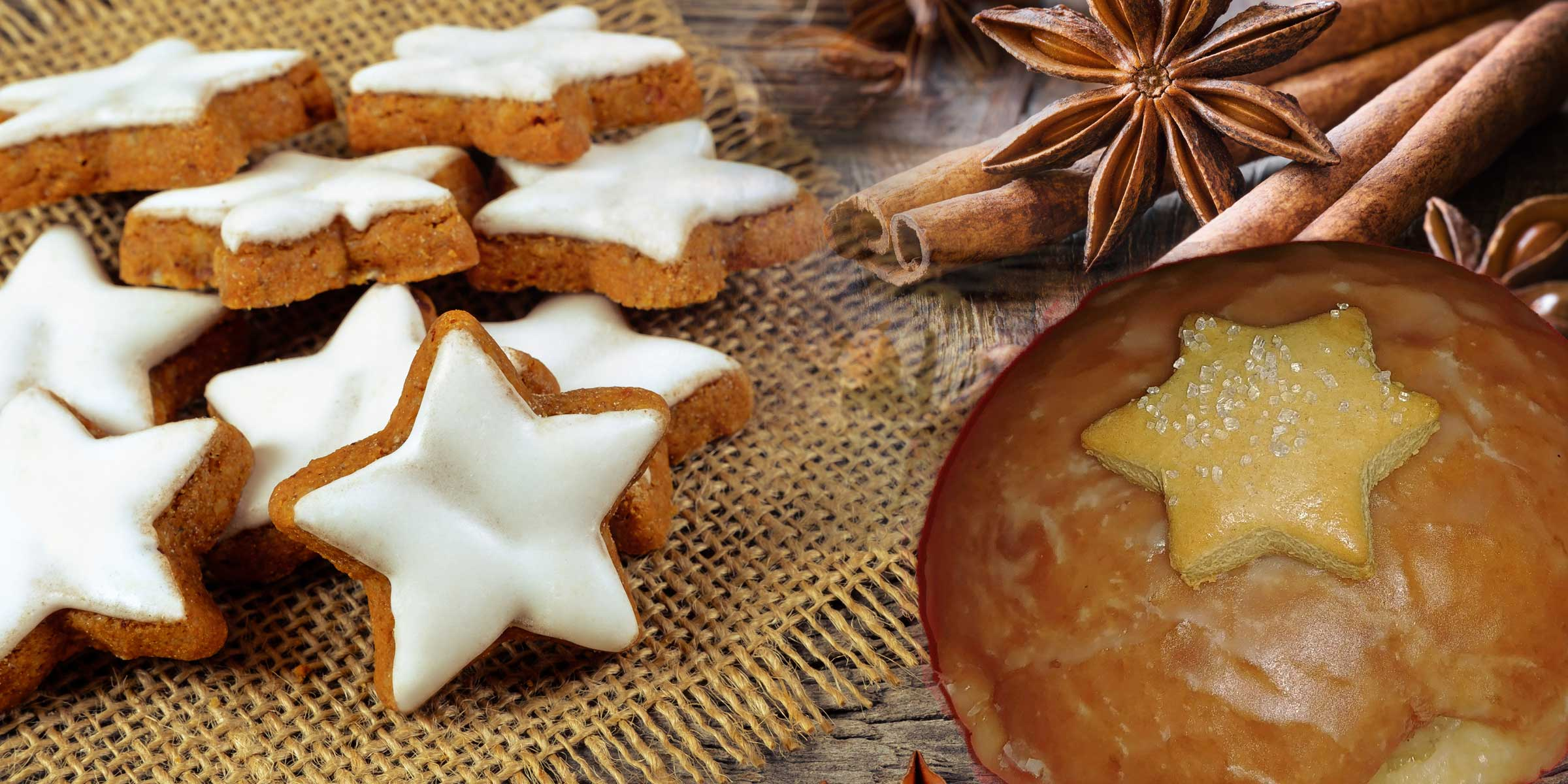 Gingerbread Spice Donut