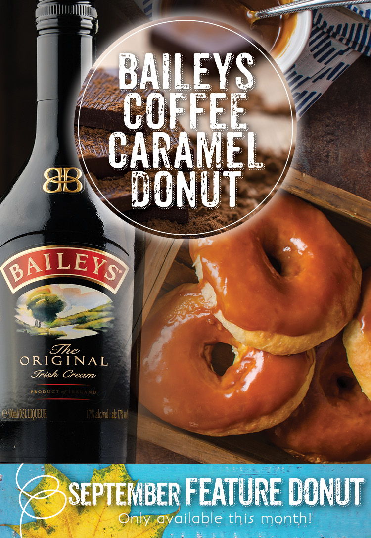 Invermere Bakery Donut Special this September!