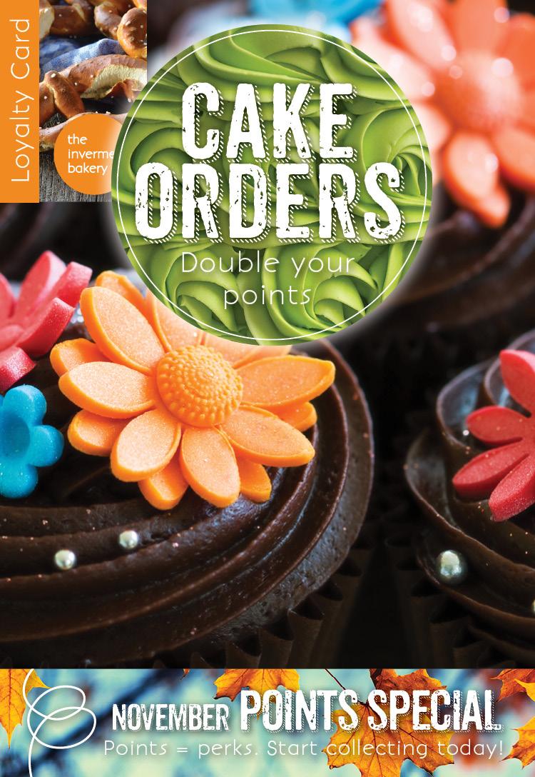 Invermere Bakery - Custom Cake Orders