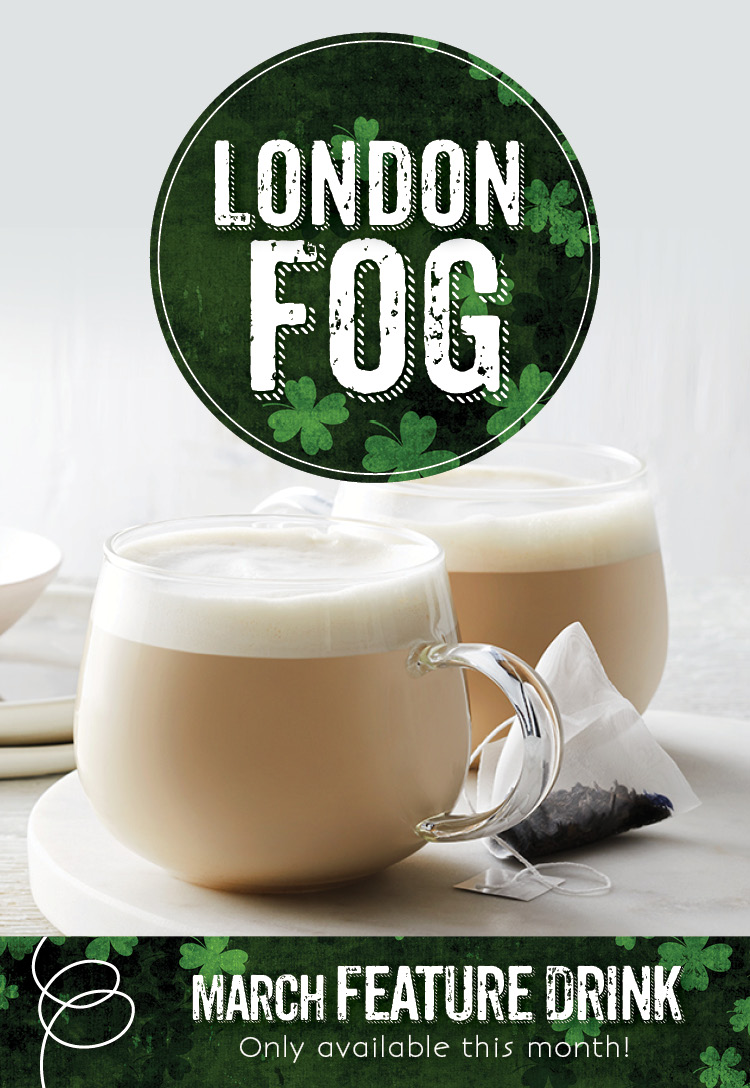 London Fog at the Invermere Bakery