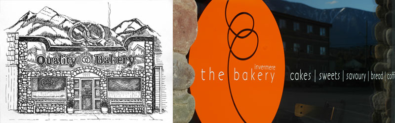 The Invermere Bakery - brand development