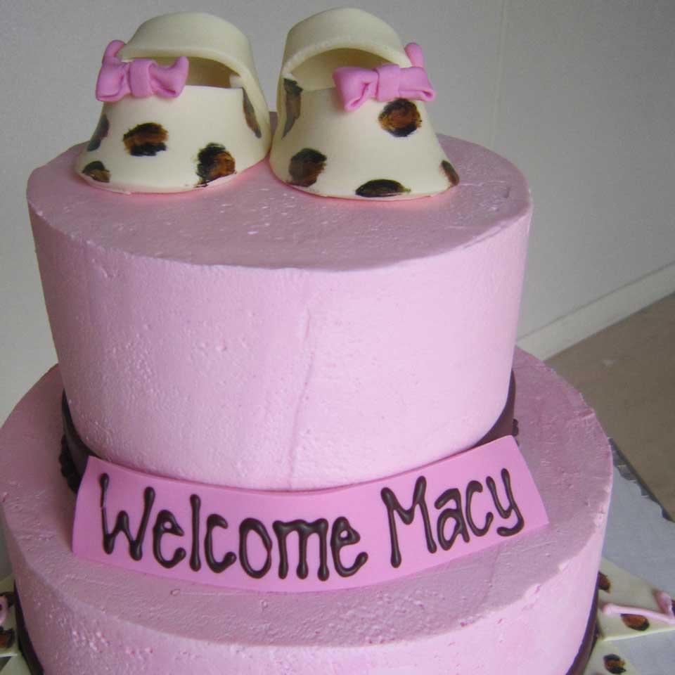 Invermere Bakery - Birthday Cake - Baby Pink