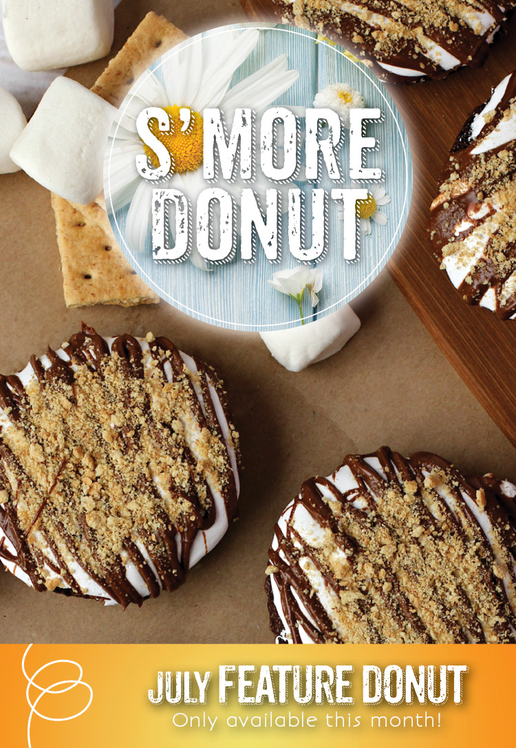 The Invermere Bakery Feature - S'Mores Donut
