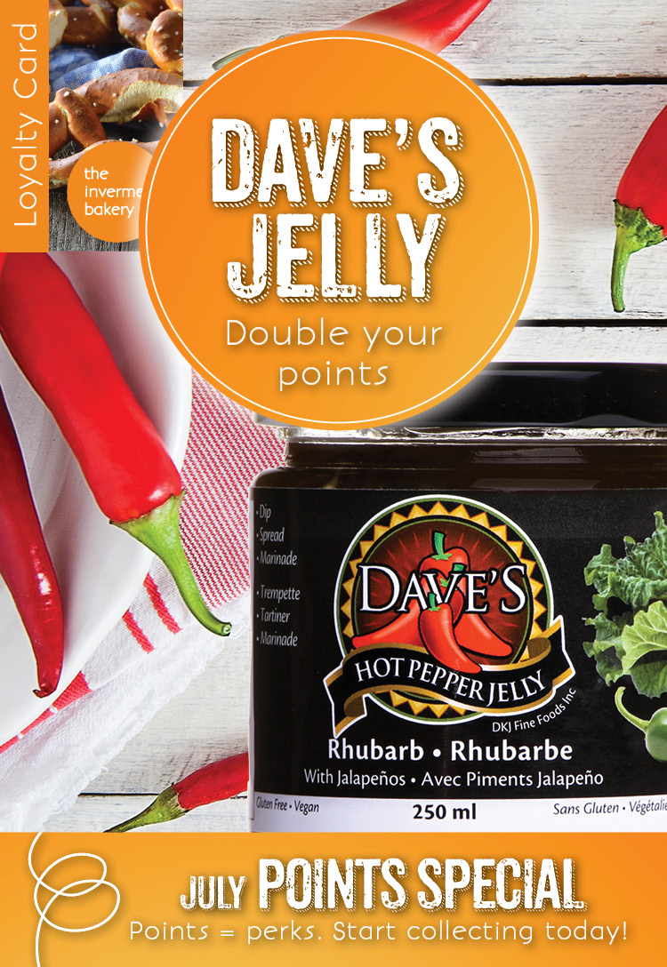 The Invermere Bakery Feature - Dave's Hot Pepper Jelly