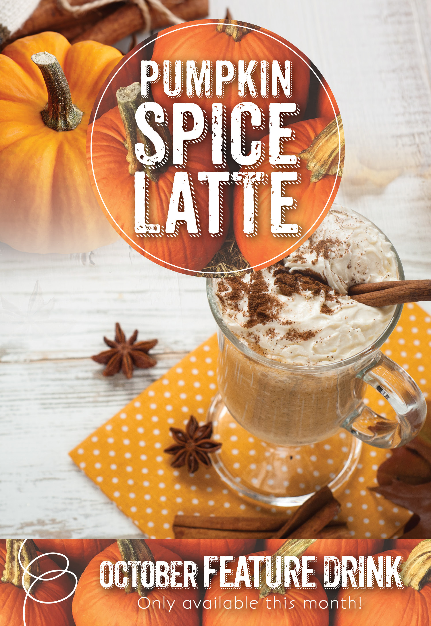 Enjoy a Pumpkin Spice Latte at the Invermere Bakery