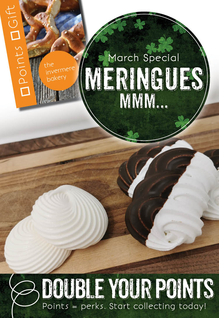 Invermere Bakery Points Special - Meringues