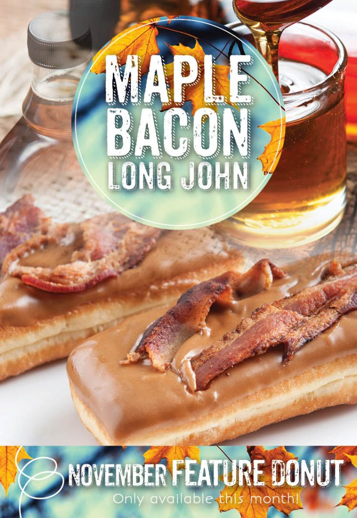 Maple Bacon Long John - Invermere Bakery Special!