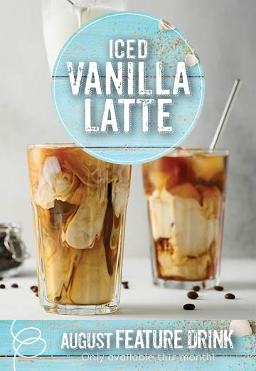 Invermere Bakery - Iced Vanilla Latte