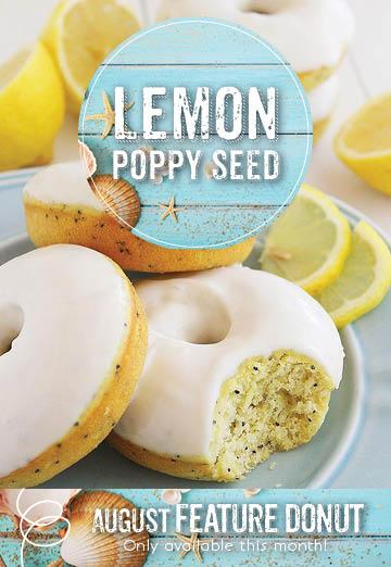 Invermere Bakery - Lemon Poppy Seed Doughnut